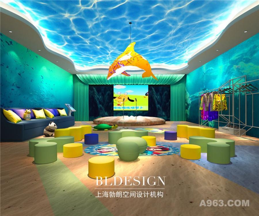 郑州幼儿空间设计公司分享郑州儿童主题室内游乐中心设计案例