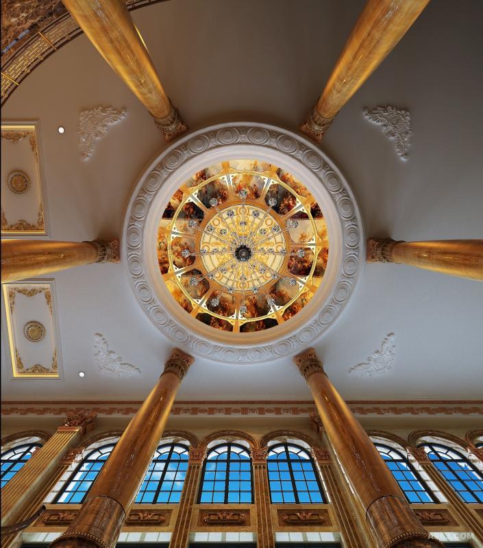 欧式区大厅