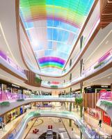 哈尔滨彩虹城商业空间设计效果图独特主题闪耀全城