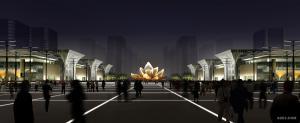济南高铁西客站东广场规划设计