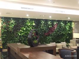 五征酒店植物墙
