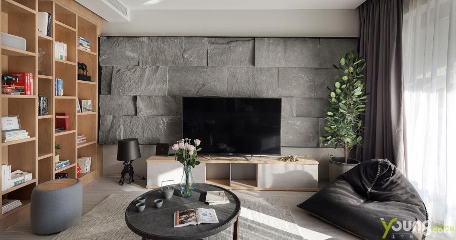 【深圳漾空间设计有限公司】漾设计Young Design——记忆中对于未来的家的想象,似乎总在改变,但不管怎么变化,自然系的魅力还是无可匹敌的。