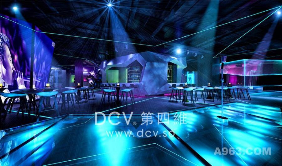 西安潮流新理念量贩KTV设计-21度K强音娱乐(T11 Block)