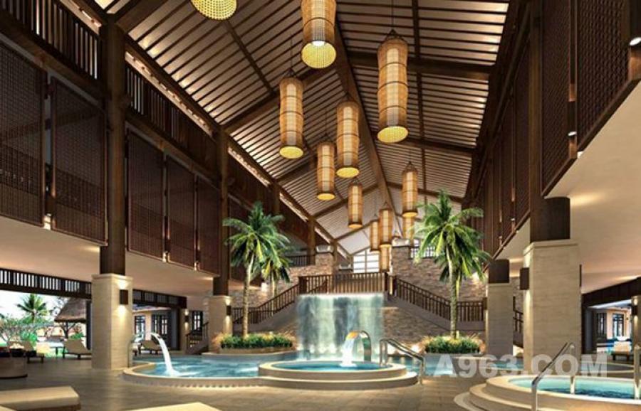 攀枝花红格温泉度假酒店 -嘉信设计院