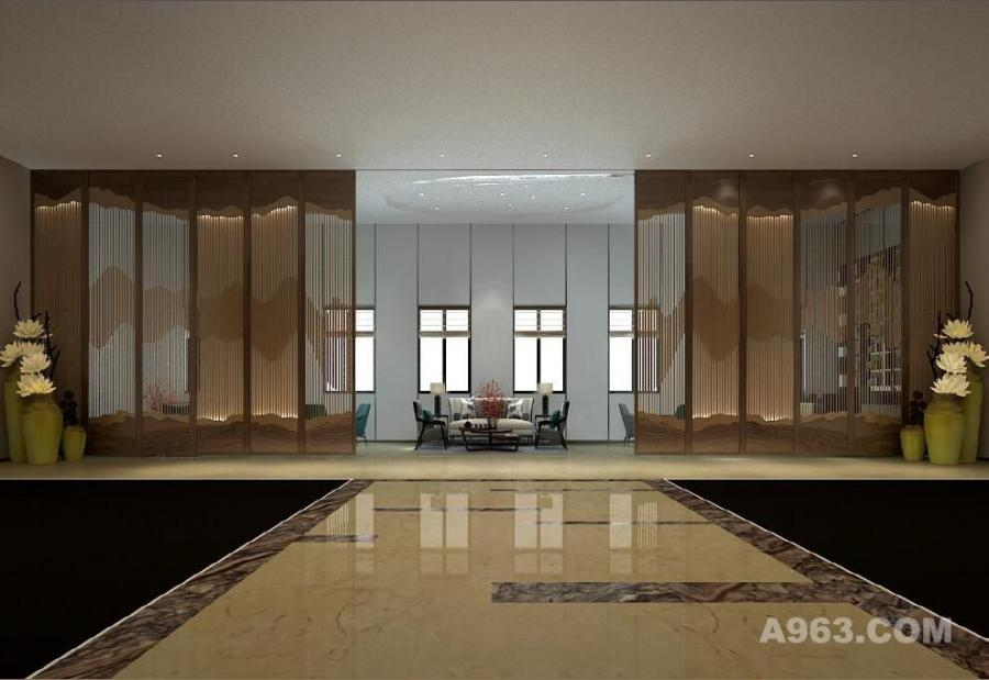 长江家具•河源展厅-嘉信设计院