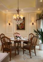 北京创视界私宅装饰设计之西山华府欧式乡村风格家装装饰设计