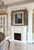 北京裘马都230平私宅装饰设计欧式古典风格大平层4室3厅1厨4卫来自创视界