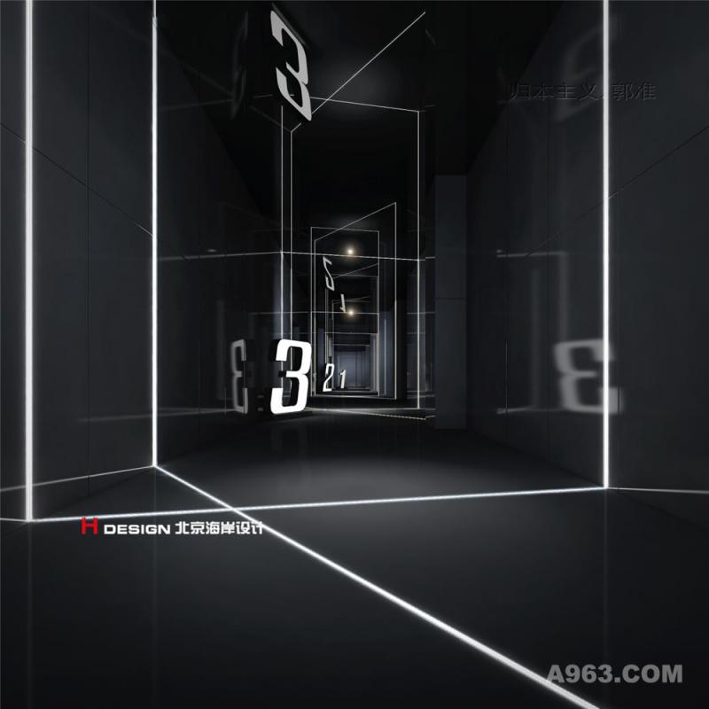 沙湾影院室内设计案例—室内效果展示1