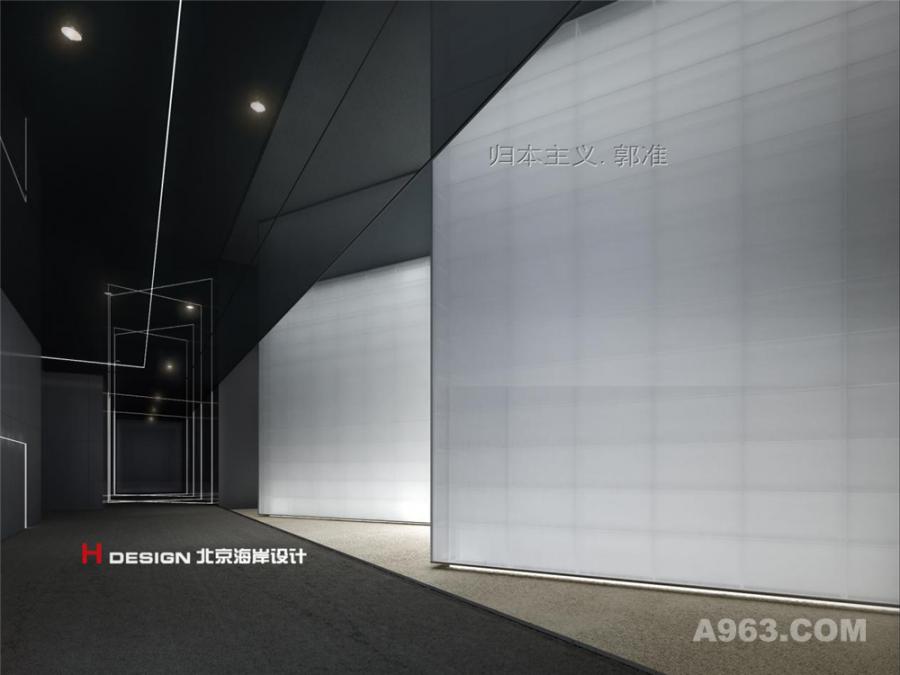 沙湾影院室内设计案例—室内效果展示3