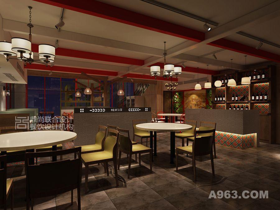 餐厅收银区设计