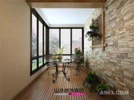 【山水装饰】华邦繁华里110平米简美风格家居空间设计案例