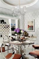 唐山市万科红郡330平新古典独栋别墅私宅装饰设计
