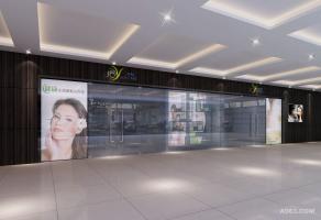 蝶蕊花植物化妆品专卖店设计