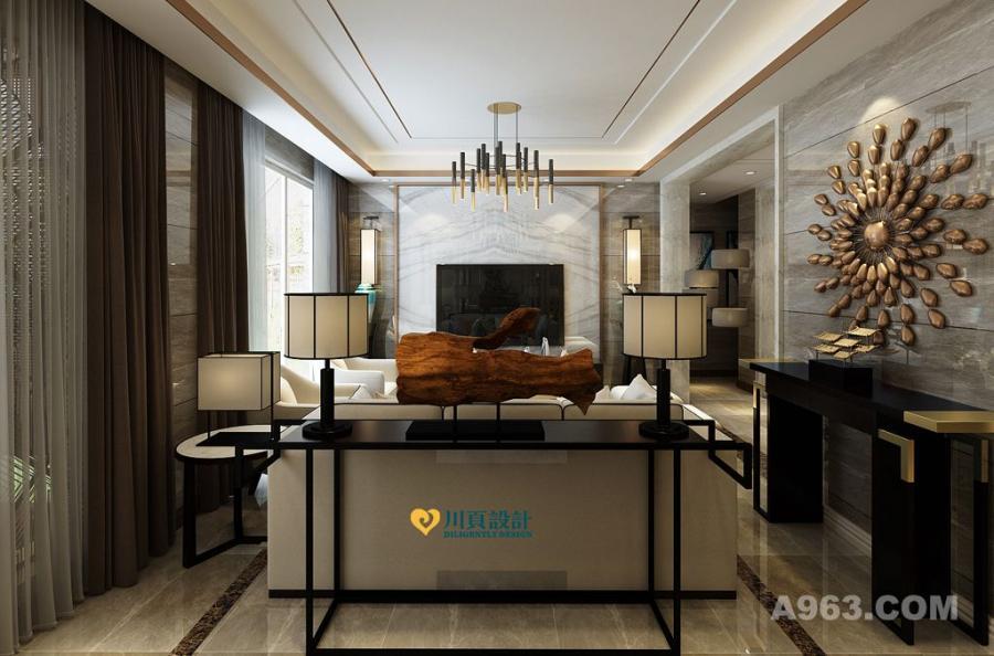 客餐厅采用简洁造型、无过多的装饰、推崇科学合理的构造工艺,重视发挥材料的性能的特点。充分体现材质的质感和细节,让空间大气奢华.