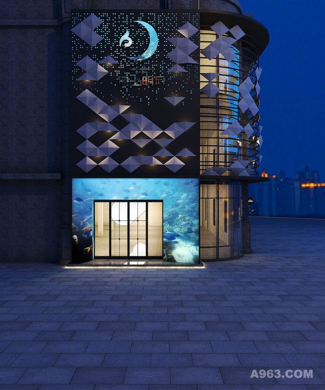 新中式餐厅设计-海上明月-杭州象内设计