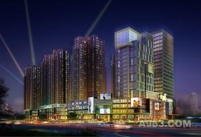 遵义华诚大都汇建筑外立面设计:播州的音律,跳动着的商业脉搏
