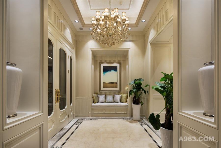 中凯城市之光大平层项目装修设计方案,上海腾龙别墅设计作品,欢迎品鉴
