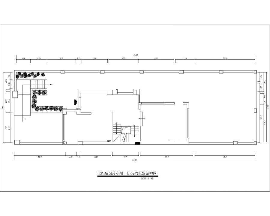地下室原始结构
