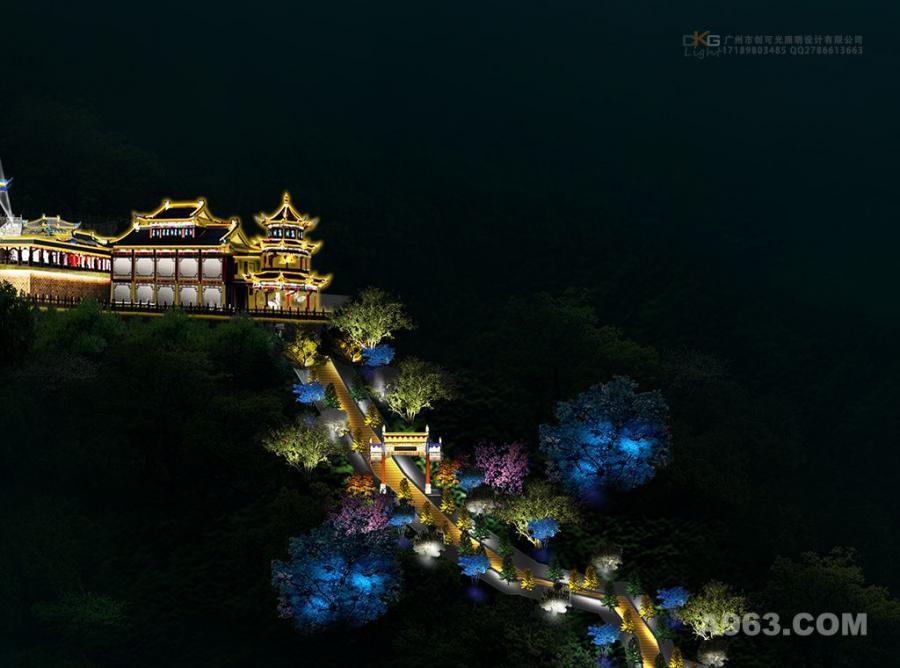 旅游灯光规划设计,山体灯光设计,景区灯光设计,文旅亮化灯光