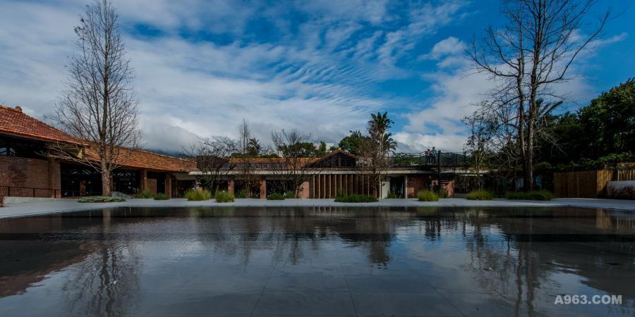 戶外景觀池