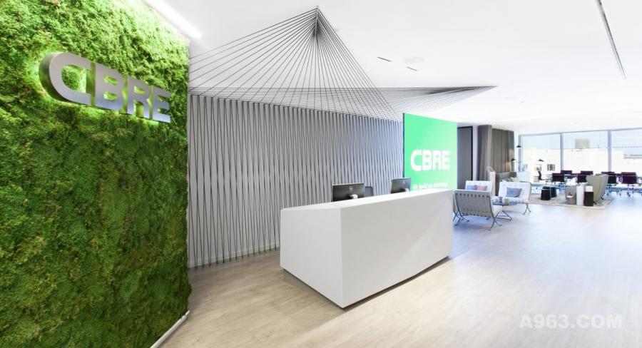 【库客设计】西班牙巴塞罗那CBRE办公空间