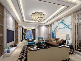 新古典风格安阳样板房