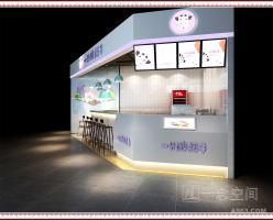 时尚冷饮店设计:一只酸奶牛南宁西大店