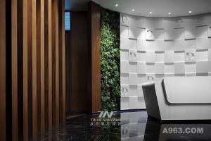 深圳天安云谷办公室设计-现代工业