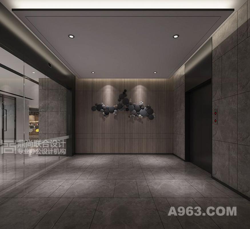 写字楼设计|电梯厅