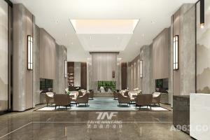 河北青田地产售楼处设计