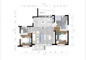 三口之家 ------170平米 方案1