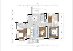 三代同堂-----170平方 方案2