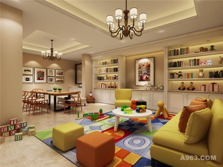吉宝别墅项目装修欧美风格设计方案,上海腾龙别墅设计师刁振英作品,欢迎品鉴