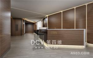 西安创意办公设计-榆林艾美酒店办公空间