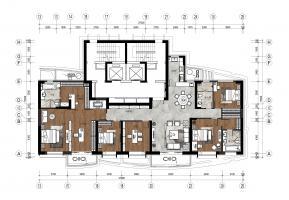 136平米+209平米户型-三代同堂家庭设计方案