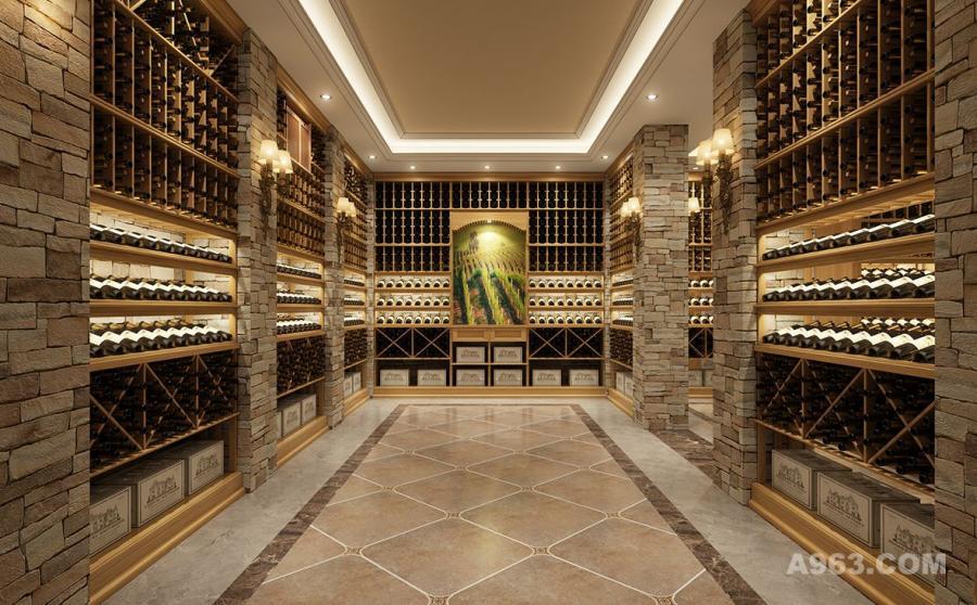 家庭地下室酒窖设计