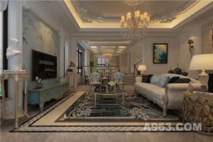中海原山300平米法式别墅设计案例分享