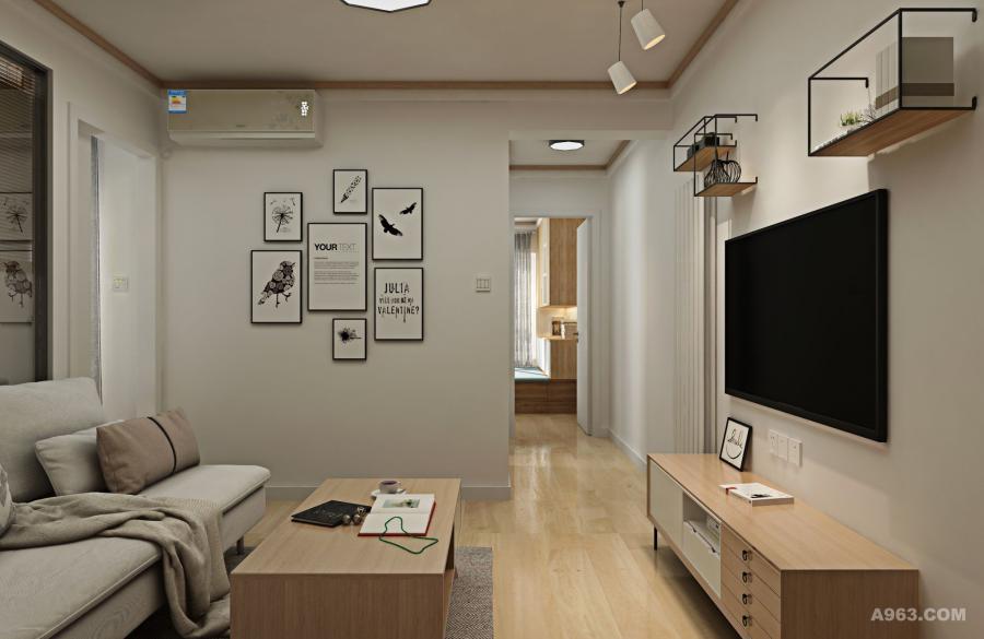 经过详细的沟通,最终选定现代日式来满足房主温馨、自然、简约的述求。