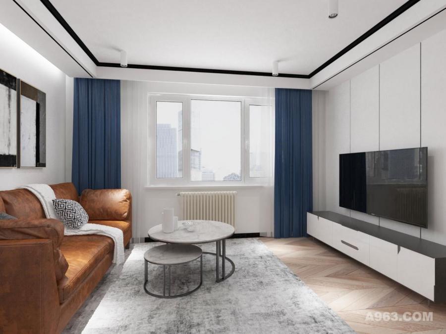 客厅是所有空间中面积占比重最大的空间,是最主要的起居活动中心,客厅的设计尤为重要