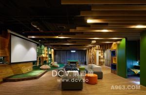 西安北航科技园创意办公室内设计,让空间以人为本实现多元化