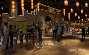 西安设计团队出品,独具特色的《庆州老街》主题商业综合体