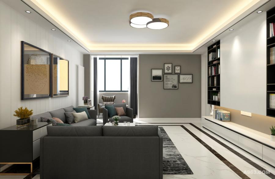 休闲椅和布艺沙发,强调居室舒适性能。