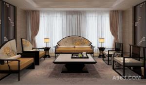泸州简约酒店设计-水木源创-中式酒店设计公司