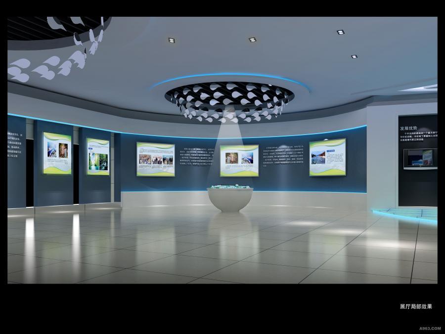 江西展厅设计_南昌展厅工程设计_专业展厅装修设计制作--税务局展厅