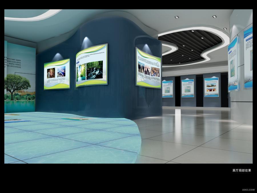江西展厅设计_南昌展厅工程设计施工-专业展厅装修设计制作--税务局展厅
