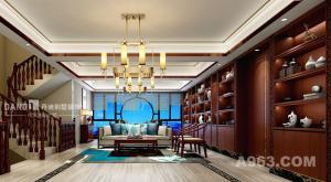 熙龙湾-中式风格-别墅