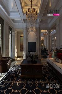 亳州华府翡翠庄园260平米欧式别墅设计