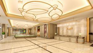 广州云色装饰设计   湖南郴州平海九龙湾售楼处