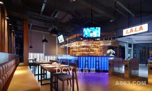西安LALA LAND 海鲜、披萨美式风格自助餐厅(高新店)室内装修设计