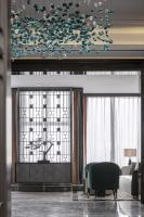 长沙万国集团办公会所软装设计